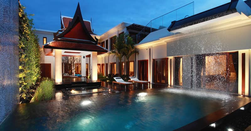 Best phuket resorts with private pools for Pool villa design
